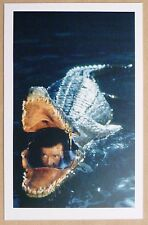 JAMES BOND 007 POSTCARD - OCTOPUSSY - ROGER MOORE - CROCODILE SUBMARINE