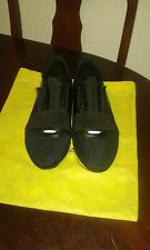 balenciaga black/yellow running shoes uk size 8 europe size 42