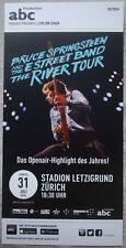 1 BRUCE SPRINGSTEEN Tour flyer Concert promo rare rar  2016 The Boss