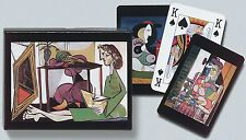 Picasso Double Deck Bridge Size Playing Cards by Piatnik