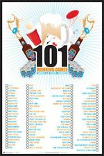 DRINKING POSTER 101 Drinking Games To Play