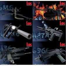 HECKLER & KOCH HK (6) POSTER SET HK 416 417 M320 GMG G36 MP7 G36C COLLECTORS SET