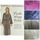 CAROLE HOCHMAN WOMENS PLUSH SOFT POLYESTER FLEECE WRAP ROBE free ship M17 M19