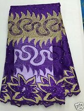 2016 New Embroidery  Nigerian Design African Net Lace Fabric Mesh Tulle Lace,5y