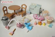 JP Laundry Washing Machine Iron House Cleaner Sylvanian Families Family PlaySet