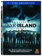 The Curse Of Oak Island Complete First Season 1 One DVD Series TV History Video