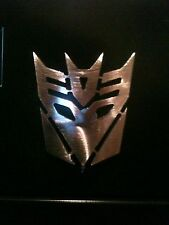 Transformers Decepticon face logo Magnet  Man Cave Metal Art Wall Decor
