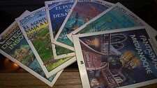 Agente Arthur y Agencia de Detectives Insolitos, 6 books Like New, 1993, Lumen,