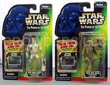 Star Wars PotF 2 Pack Hoth & Endor Rebel Soldiers Freeze Frame Cardback Kenner