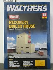HO Recovery Boiler House Building Kit - Walthers Cornerstone #933-3901