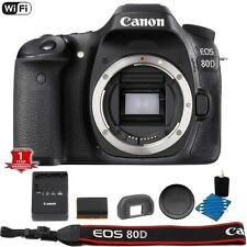 Canon 80D WiFi NFC Digital SLR DSLR Body + Lens Cleaning Kit