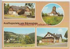 (92268) AK Bärenstein Kr. Annaberg, Mehrbildkarte Ausflugsziele, 1988