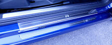 VW Golf Mk7 R (released approx 2014) 2 Door Sill Protectors / Kick plates