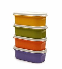 Tupperware Modular Mate oval # 1 Coloured (set of 4)