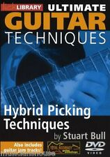 LICK LIBRARY ULTIMATE GUITAR TECHNIQUES HYBRID PICKING Learn to Play Rock DVD