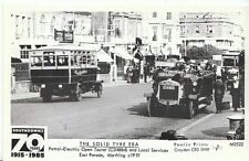 Transport Postcard - Petrol-Electric Open Tourer & Local Services, Worthing U700