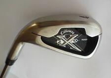 Left Handed Callaway X20 X-20 Tour 4 IRON   Rifle 6.0 Steel Shaft  Callaway Grip