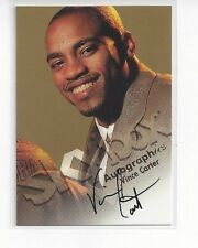 1998-99 SKYBOX PREMIUM CERTIFIED AUTHENTIC AUTO AUTOGRAPHICS VINCE CARTER RC #25