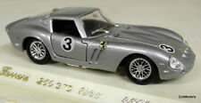SOLIDO 1/43 - 4506 FERRARI 250 GTO 1963 SILVER DIECAST MODEL CAR