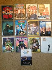 Lot Of 13 DVDs - Jimmy Neutron - Iron Giant - Wreck It Ralph - Father Of Bride