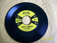 Marty Robbins Once-A-Week Date/ The Story Of My Life 45 RPM VG