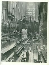 1937 Westminster Abbey Where George VI Will Be Crowned News Service Photo