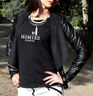 HOMIES LONDON WOMEN'S T SHIRT SWAG CELINE HIPSTER HYPE TOP TEE URBAN OUTFIT