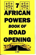7 African POWERS BOOK OF ROAD OPENING occult seven magic orishas