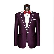 Tailored Groom Best Men Wedding Tuxedos Groomsmen Party Suits Blazers And Pants