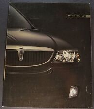 2004 Lincoln LS Catalog Sales Brochure Excellent Original 04 Canadian