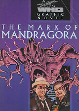 Rare: The Mark of Mandragora: Dr Doctor Who graphic novel, Marvel 1993. GC++
