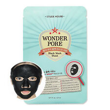 [ETUDE HOUSE] Wonder Pore Black Mask Sheet 21ml * 1pcs / Sebum control /