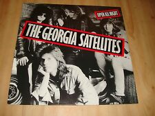 THE GEORGIA SATELLITES-OPEN ALL NIGHT [ELEKTRA]  INNER SLEEVE