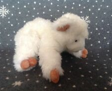 "BABY GUND WHITE LAMB SHEEP SOFT PLUSH TOY 12"" LONG"