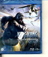 KING KONG   inclus version cinema et version longue    blu ray neuf  ref 0511144