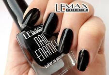 Lemax - Nail Enamel BLACK, Nail polish - BEST   9ml