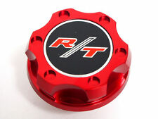 06-14 DODGE CHARGER CHALLENGER 5.7L V8 RT R/T HEMI BILLET ENGINE OIL CAP RED