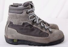 Asolo Sport Superior Italy Gray Canvas Mountaineering Hiking Boot Men's U.S. 6.5