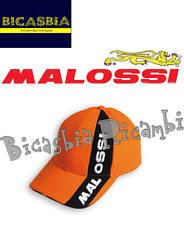 4401 - CAPPELLO CAPPELLINO ARANCIONE PIT LINE MALOSSI - IDEA REGALO BICASBIA