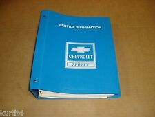 1985 Chevrolet Chevette service shop dealer repair BINDER manual
