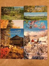 Country Magazine Lot of of 8 Back Issues 2002-2005