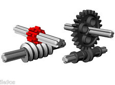 Lego WORM Gears Classic + New  (technic,car,truck,gears,gearbox,axle,mindstorms)