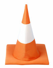 NOVELTY TRAFFIC CONE HAT FUNNY FANCY DRESS STAG HEN HIGHWAY STUDENT FRESHERS NEW