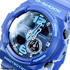 CASIO G-SHOCK Super Illuminator Big Case Blue Watch GA-310-2A | 2 Yr Warranty