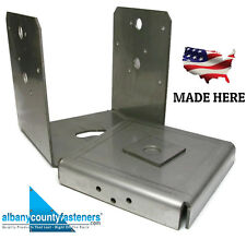 Decking Post Base 316 Stainless Steel 4x4 PAU44 ABU44 Post Anchor for Deck QTY 5
