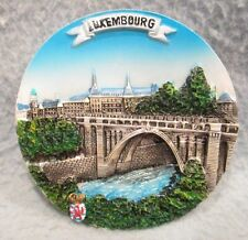 Adolphe Bridge Luxembourg City Luxembourd 3D Magnet, Souvenir, Travel, Fridge