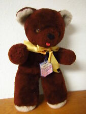 VINTAGE TRUDY TOYS TEDDY BEAR 15 inch tall with tag.  Acrylic Fiber