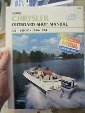 Chrysler 3.5-140 Hp Outboards, 1966-1984 Janice Kenyon BOAT MOTOR REPAIR MANUAL