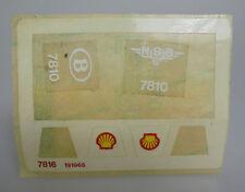 LEGO® Eisenbahn 4,5V Torso Aufkleber / Stickerbogen für die 7816 Shellwaggon