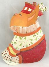 New With Tag PATIENCE BREWSTER Krinkles Oversized TIN FRENCH BULLDOG Ornament